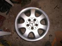 2002 CLK wheel