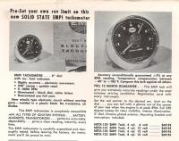 Catalog ad for early Empi tachometer