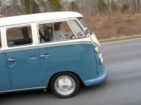 dove blue & ivory  bus