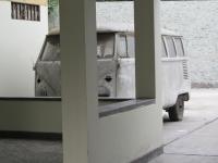 Hidden bus, Barranco (Lima, Peru)