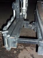 Modified Thule 998XT bike rack