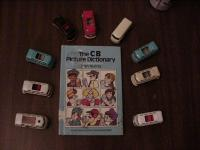 Toy buses and a CB book