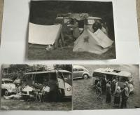 Old camping photo