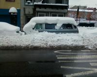 Ny snow+van