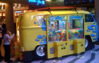 Crazy baywindow crane machine