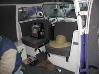 double swivel seat panel