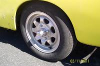 Photos of Dan Gurney Wheels on 74 Ghia