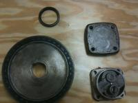 Oil Pump pulley and seal