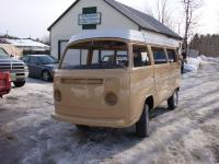 Randy's 79 bus after the paintshop