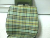 old 76 factory green-yellow seat with cover