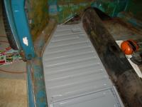 Floor pan rust and replacement