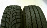 Winter and Summer rubber.