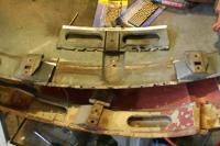 Decklid repair--spring mount