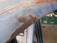 Four tab hood repair