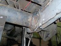 torsion tube rust