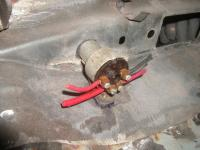 Installing ignition switch in our 57 oval
