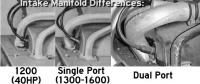 Intake manifold differences
