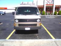 Vanagon in arby's parking lot Dansville, NY