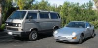 Matched pair Porsche 968 and Syncro