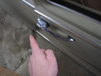 How to rekey a VW bug handle