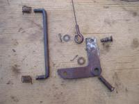 Accelerator pedal linkage and hardware