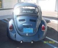 """ Blue "" my 71 super beetle"