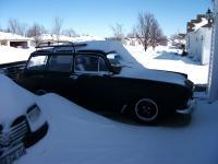 frankensquare in the snow...