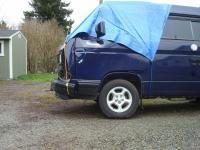 91 Westfalia damage