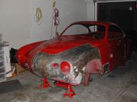 for the forums - 1958 Karmann Ghia restoration