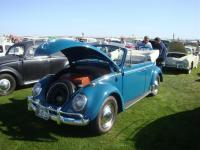 Blue Convertible Beetle