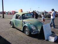 Green '66 Beetle with 2-liter engine