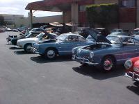 Karmann Ghia line-up