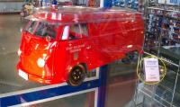 Fire bus toy