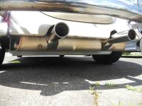 Vintage spee muffler clear GB traction bar, and above 1.5q sump