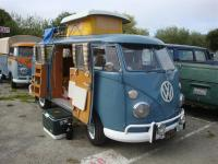 Dove Blue Camper