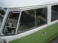Green Lowered Bus