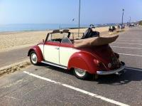 My 1964 Cabriolet -  Bournemouth beach, UK