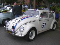 Herbie takes a prize at Kelley Park.