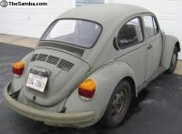 My '79 Army bug before TLC