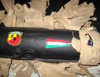 NOS Abarth Exhausts