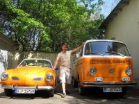 1979 VW Luxury Camper & 1970 VW Karmann Ghia