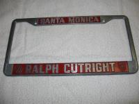 Ralph Cutright dealer frame