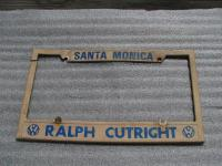 old Cutright frame