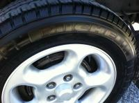 Rhein wheels, Agilis tires and Armor-all