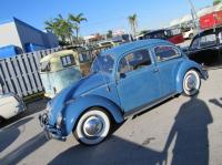 STOLEN 1958 beetle hardtop, capri blue from Miami