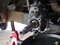 '63 1500cc Bus rear axle shaft