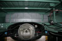 engine, fuel tank installed
