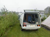 Inside a T3 panelvan