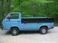 1986 Transporter Syncro single cab