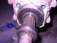 barndoor reduction box bearings